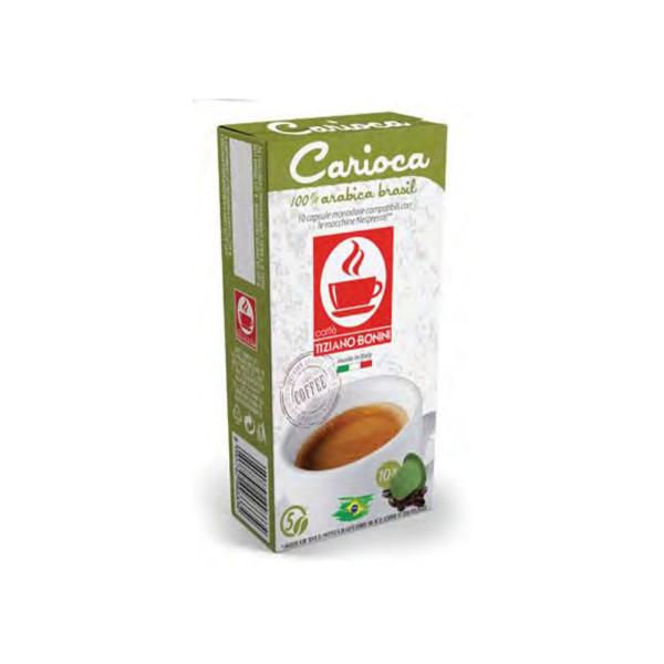 Carioca espresso 10 συμβατή κάψουλα Nespresso