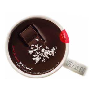 Μαύρη σοκολάτα με καρύδα