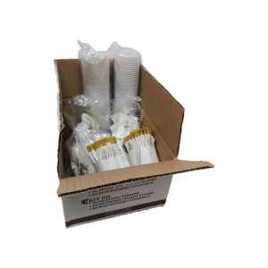 misceladoro-kit-100 ποτήρια, αναδευτήρες, ζάχαρες