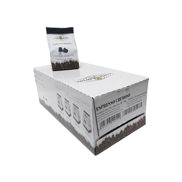 συμβατές κάψουλες Nespresso Miscela doro Espresso Cremoso 100