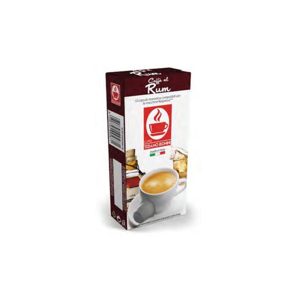 espresso Rum 10 συμβατή κάψουλα Nespresso kouti 10