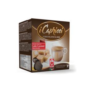 σοκολάτα latte caramel Capricci καραμέλα nespresso