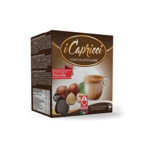 Σοκολάτα φουντούκι Capricci συμβατή κάψουλα Nespresso 10 τεμάχια 2020
