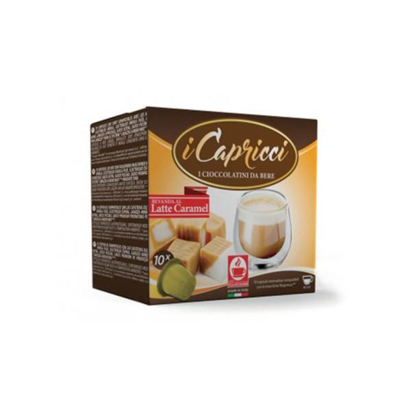 Σοκολάτα latte caramel Capricci συμβατή κάψουλα Nespresso