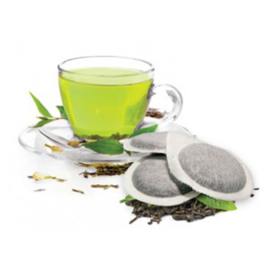 Tiziano Bonini πράσινο τσάι Pods χάρτινες μερίδες, ταμπλέτες