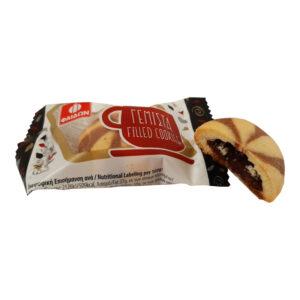 Μπισκότα γεμιστά με πραλίνα Φαίδων velvet feel