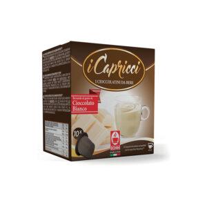 λευκή σοκολάτα Capricci συμβατές κάψουλες Nespresso