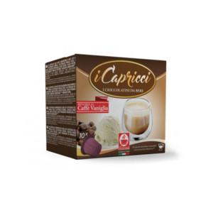 σοκολάτα καφέ βανίλια Capricci συμβατή κάψουλα Nespresso
