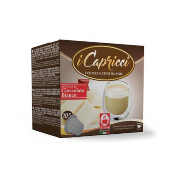Λευκή σοκολάτα Capricci συμβατή κάψουλα Nespresso
