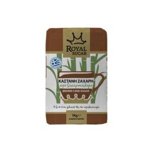 Καστανή ζάχαρη Royal 1Kg από ζαχαροκάλαμο