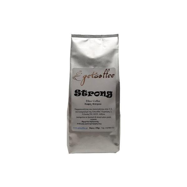 Καφές Φίλτρου Getcoffee Strong δυνατός