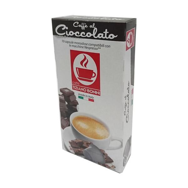 Tiziano Bonini espresso σοκολάτα συμβατές κάψουλες Nespresso