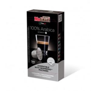 Molinari Espresso 100% Arabica κάψουλες Nespresso