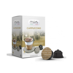 Must Cappuccino συμβατές κάψουλες Dolce Gusto