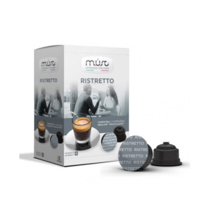 Must Ristretto συμβατές κάψουλες Dolce Gusto