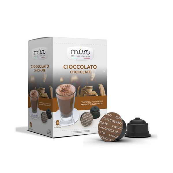 Must Cioccolato συμβατές κάψουλες Dolce Gusto