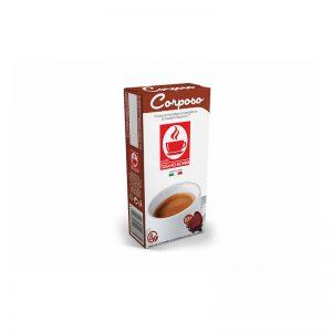 Tiziano Bonini Espresso Corposo συμβατές κάψουλες Nespresso ένταση 8/10