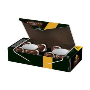 Jacobs Espresso Intenso συμβατές κάψουλες Nespresso κασετίνα