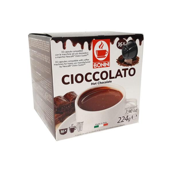 Σοκολάτα συμβατές κάψουλες Dolce Gusto 16 τεμάχια new 2021