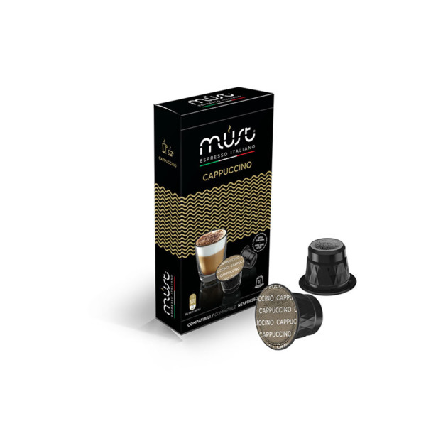 Must Cappuccino συμβατές κάψουλες Nespresso