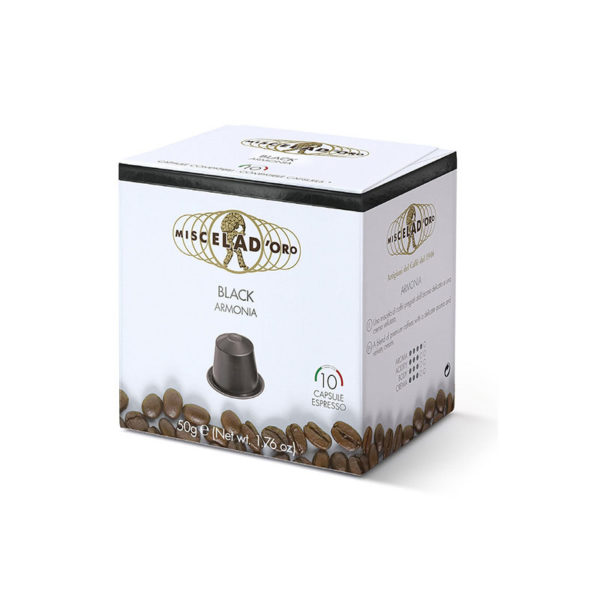 Miscela d'oro Espresso Black συμβατές κάψουλες Nespresso