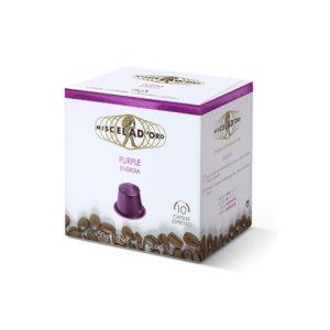 Miscela d'oro Espresso Purple συμβατές κάψουλες Nespresso