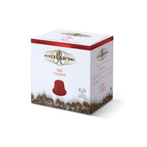 Miscela d'oro Espresso Red συμβατές κάψουλες Nespresso