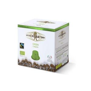 Miscela d'oro Espresso Green συμβατές κάψουλες Nespresso