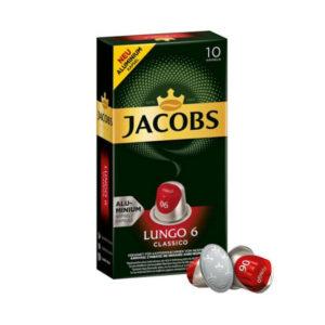 Jacobs Espresso Lungo Classico συμβατές κάψουλες Nespresso