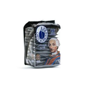 Ταμπλέτες Borbone Nera Ese Pods χάρτινες μερίδες έντονος καφές