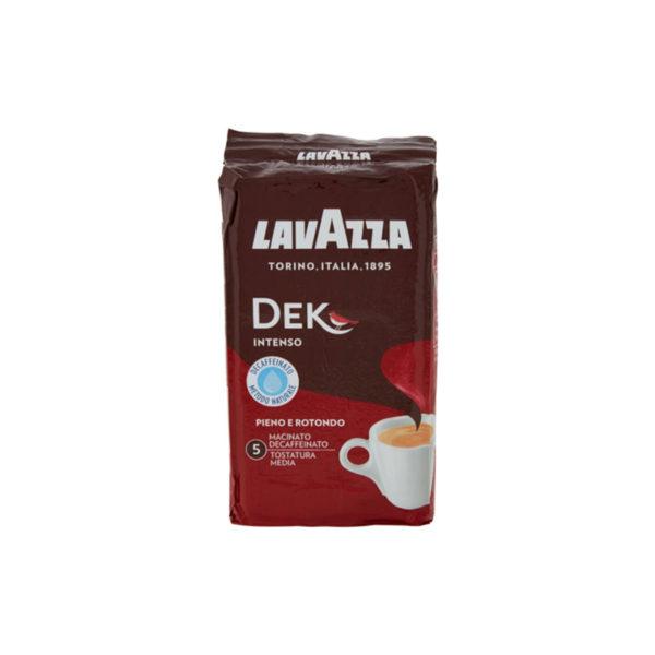 Lavazza DEK Αλεσμένος καφές ντεκαφεϊνέ espresso Intenso