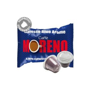 Moreno Espresso Blue Arome συμβατές κάψουλες Nespresso