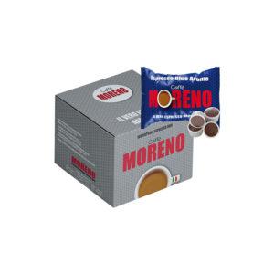 Moreno Espresso Blue Arome συμβατές κάψουλες Lavazza Point κουτί