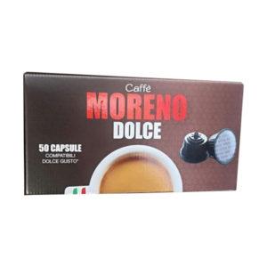 Moreno Espresso Bar συμβατές κάψουλες Dolce Gusto κουτί