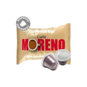 Moreno Espresso Bar συμβατές κάψουλες Nespresso