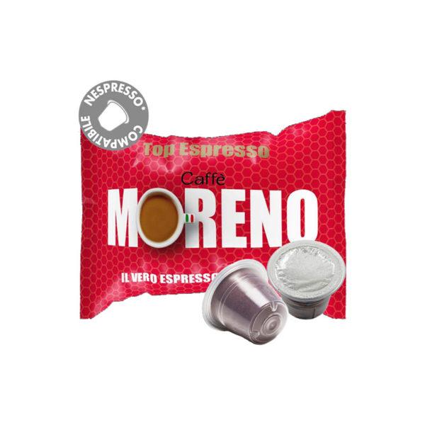 Moreno Top Espresso συμβατές κάψουλες Nespresso