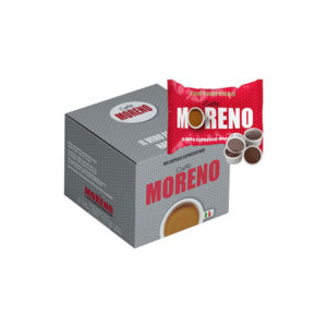 Moreno Top Espresso συμβατές κάψουλες Lavazza Point κουτί εσπρέσο