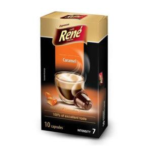 Rene espresso καραμέλα συμβατές κάψουλες Nespresso