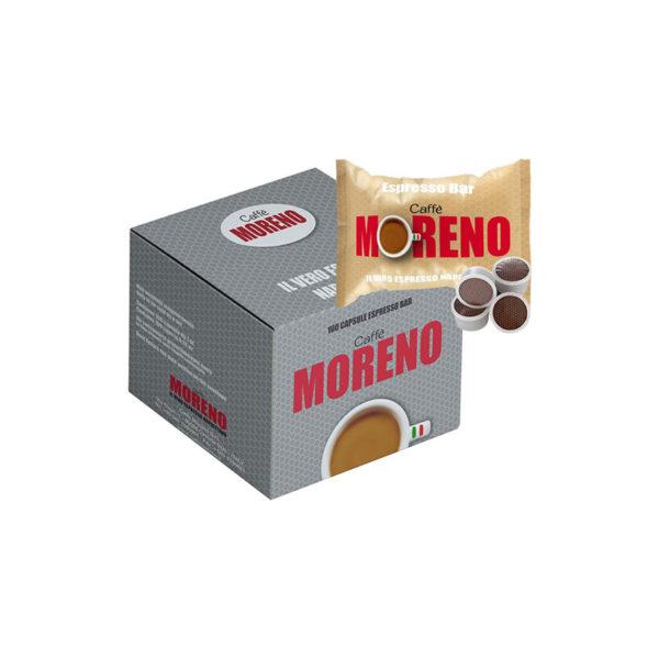 Moreno Espresso Bar συμβατές κάψουλες Lavazza Point κουτί