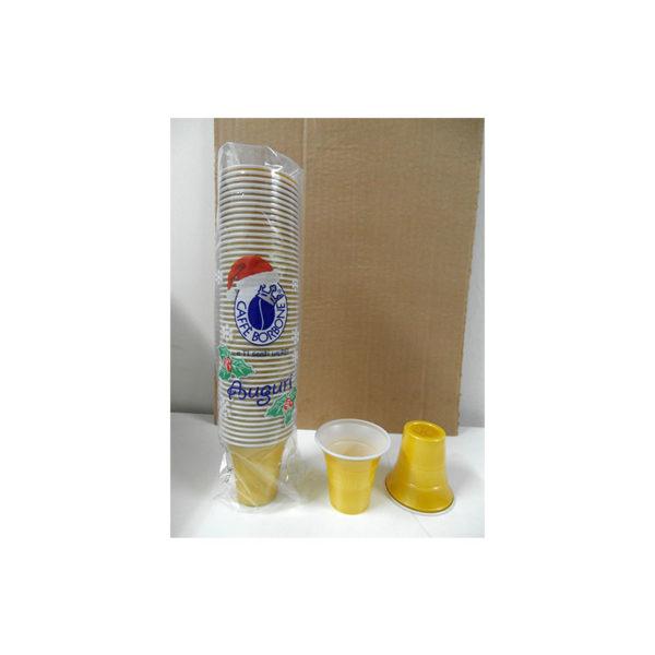 πλαστικά ποτηράκια Borbone 50 τεμάχια