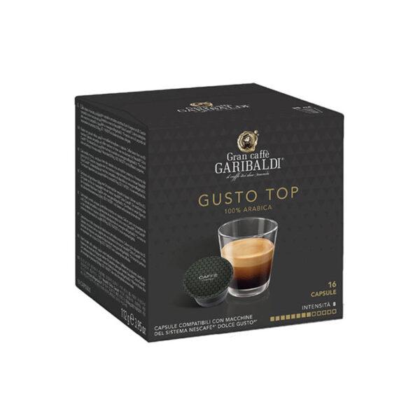 Garibaldi Gusto Top συμβατές κάψουλες