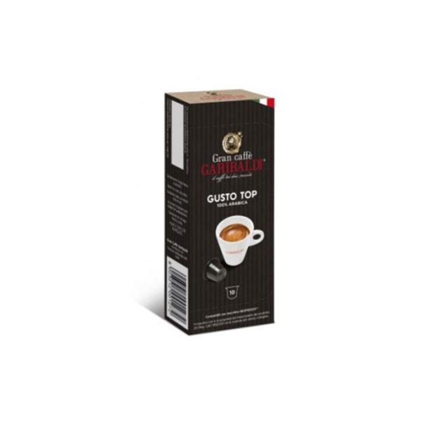 Garibaldi Gusto Top συμβατές κάψουλες Nespresso