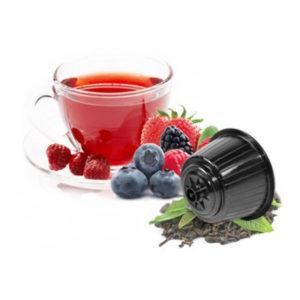 Τσάι Φρούτα του δάσους συμβατές κάψουλες Dolce Gusto