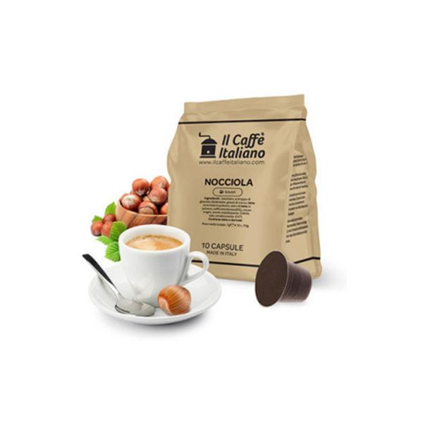 IL Caffe Italiano Nocciola συμβατές κάψουλες Nespresso καφές με άρωμα φουντούκι