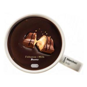Marchoc σοκολάτα γάλακτος Bueno πραλίνα φουντουκιού