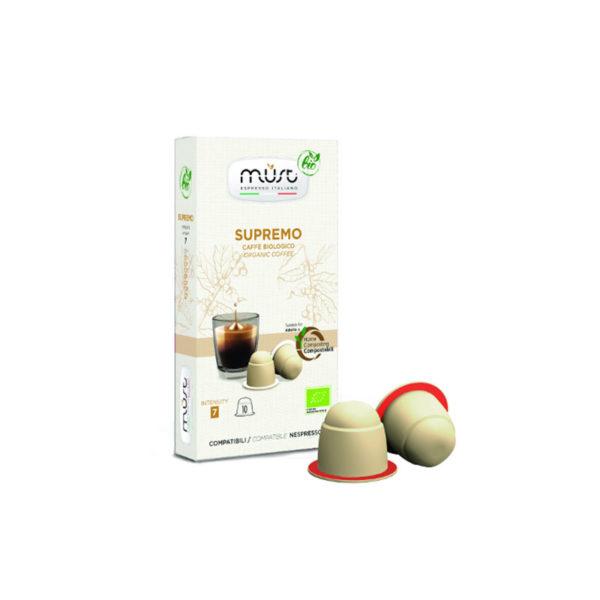 Must Supremo Bio συμβατές κάψουλες Nespresso