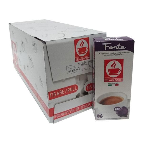 Tiziano Bonini Espresso Forte συμβατές κάψουλες Nespresso – 200 τεμ.