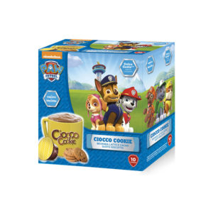 Must Ciocco Cookie Paw Patrol συμβατές κάψουλες Dolce Gusto