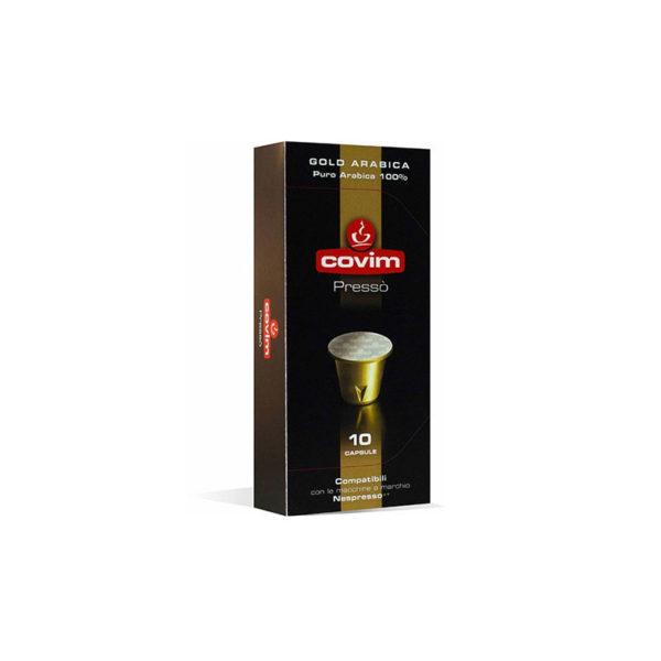 Covim Gold Arabica συμβατές κάψουλες Nespresso 100% arabica
