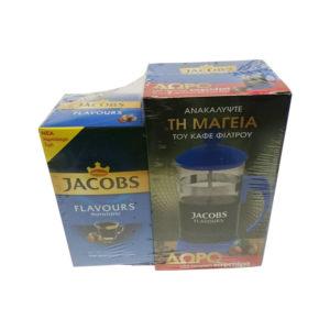 Καφές Φίλτρου Jacobs φουντούκι με δώρο καφετιέρα
